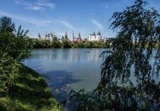 Die Ansicht des Izmailovo der Kreml Lizenzfreies Stockfoto