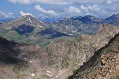 Die Ansicht vom Berg Evans, Colorado Lizenzfreie Stockfotos