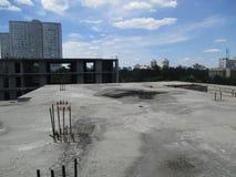 Die Ansicht vom Dach Lizenzfreies Stockfoto