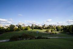 Die Ansicht vom Hügel Lizenzfreie Stockfotos