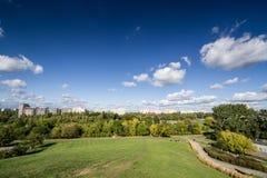 Die Ansicht vom Hügel Lizenzfreie Stockfotografie