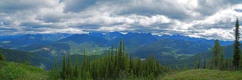 Die Ansicht vom Hoch oben auf Stanton Ridge Stockbild