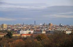 Die Ansicht von österreichischer Hauptstadt Wien Stockbild