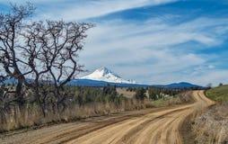 Die Ansicht von angenehmem Ridge Road Stockfotografie