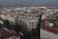 Die Ansicht von Budapest, Jahr 2008 Lizenzfreies Stockbild