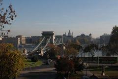 Die Ansicht von Budapest, Jahr 2008 Stockbilder
