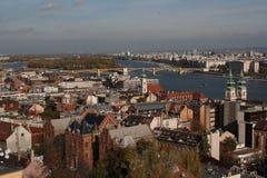 Die Ansicht von Budapest, Jahr 2008 Stockbild