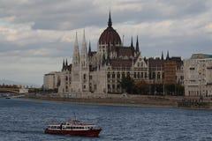 Die Ansicht von Budapest, Jahr 2008 Lizenzfreies Stockfoto