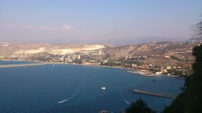 Die Ansicht von Dier Sayedat Al Noureye Lizenzfreies Stockbild