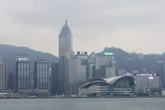Die Ansicht von Hong Kong Island Lizenzfreie Stockbilder