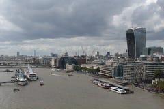 Die Ansicht von London Lizenzfreies Stockfoto