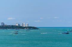 Ansicht von Pattaya-Stadt Lizenzfreie Stockfotografie