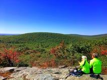 Die Ansichten von Bear Mountain Connecticut stockfotografie