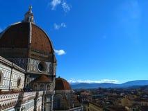 Die Ansichten von Florenz Lizenzfreie Stockbilder