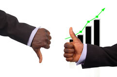 Die Anstieg-Konkurrenz Lizenzfreie Stockfotografie