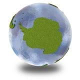 Die Antarktis auf Planet Erde Stockbild