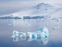 Die Antarktis-Eisberglandschaft Stockbild