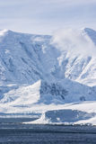 Die Antarktis - gefrorene Landschaft Lizenzfreie Stockbilder