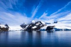 Die Antarktis Landsape Lizenzfreie Stockfotos