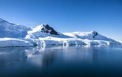 Die Antarktis Landscape-13 Lizenzfreie Stockfotos