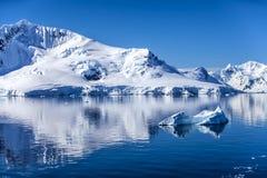 Die Antarktis Landscape-7 Lizenzfreie Stockfotografie