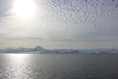 Die Antarktis - Landschaft Stockfotografie