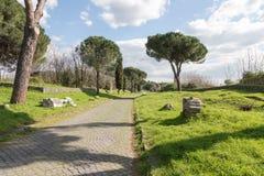 Die Appian-Weise Stockbild