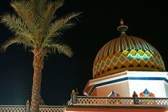 Die arabische Architektur Lizenzfreies Stockfoto