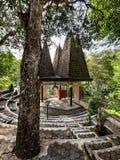 die Arbeit der Architektur aus ganz Indonesien stockbilder