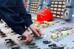 Die Arbeitskraft Abstrakter Industrietyp Stockfoto