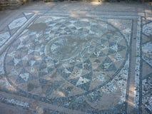Die archäologische Fundstätte von altem Dion, Griechenland Lizenzfreie Stockfotos