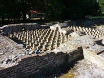 Die archäologische Fundstätte von altem Dion, Griechenland Lizenzfreie Stockbilder