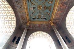 Die Architektur des Sieg-Bogens in VIENTIANE Stockbilder