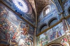 Die Architektur von Cremona Stockfoto