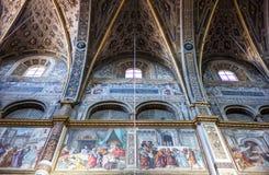 Die Architektur von Cremona Stockbilder