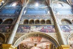 Die Architektur von Cremona Stockfotos