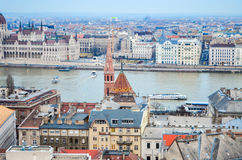 Die Architektur von Ungarn Stockfotografie