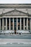 Die Archive der Vereinigten Staaten, in Washington, DC stockfoto