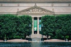 Die Archive der Vereinigten Staaten, in Washington, DC lizenzfreie stockbilder