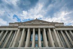 Die Archive der Vereinigten Staaten, in Washington, DC lizenzfreies stockbild