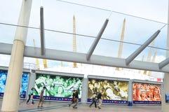 Die Arena O2 Stockfotografie