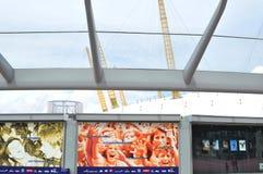 Die Arena O2 Stockfoto