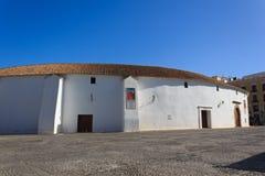 Die Arena von Ronda (Spanien) Stockfotos