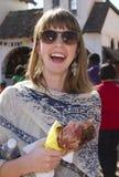 Die Arizona-Renaissance-Festival-Türkei-Fahrwerkbein Stockbild