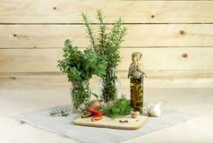Die aromatischen Kräuter lizenzfreie stockfotografie