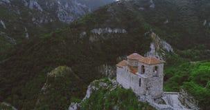 Die Asen-` s Festung in Asenowgrad Plowdiw Bulgarien stock footage