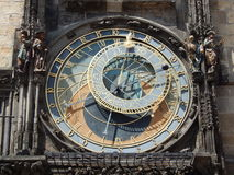 Die astronomyl Uhr Stockbild