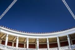 Die Athen-` Zappeions-Ausstellung Hall lizenzfreie stockbilder