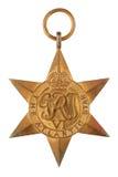 Die atlantische Weltkrieg-Medaille des Stern-zweite Stockbilder