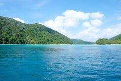 Die Atmosphäre von schönem Meer Stockbilder